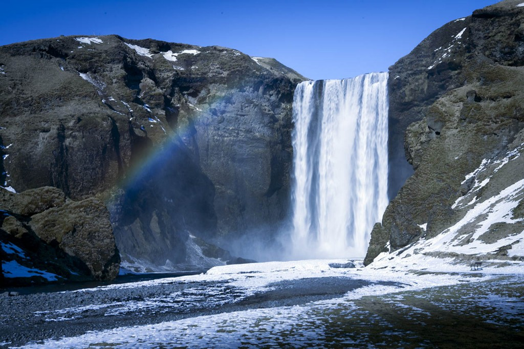 Skogafoss in South Iceland